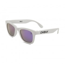 MATTE WHITE - VIOLET IRIDIUM POLARIZED