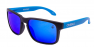 MATTE BLACK / BLUE IRIDIUM POLARIZED