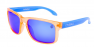 CANDY ORANGE / BLUE IRIDIUM POLARIZED / BLUE EXTRA ARM