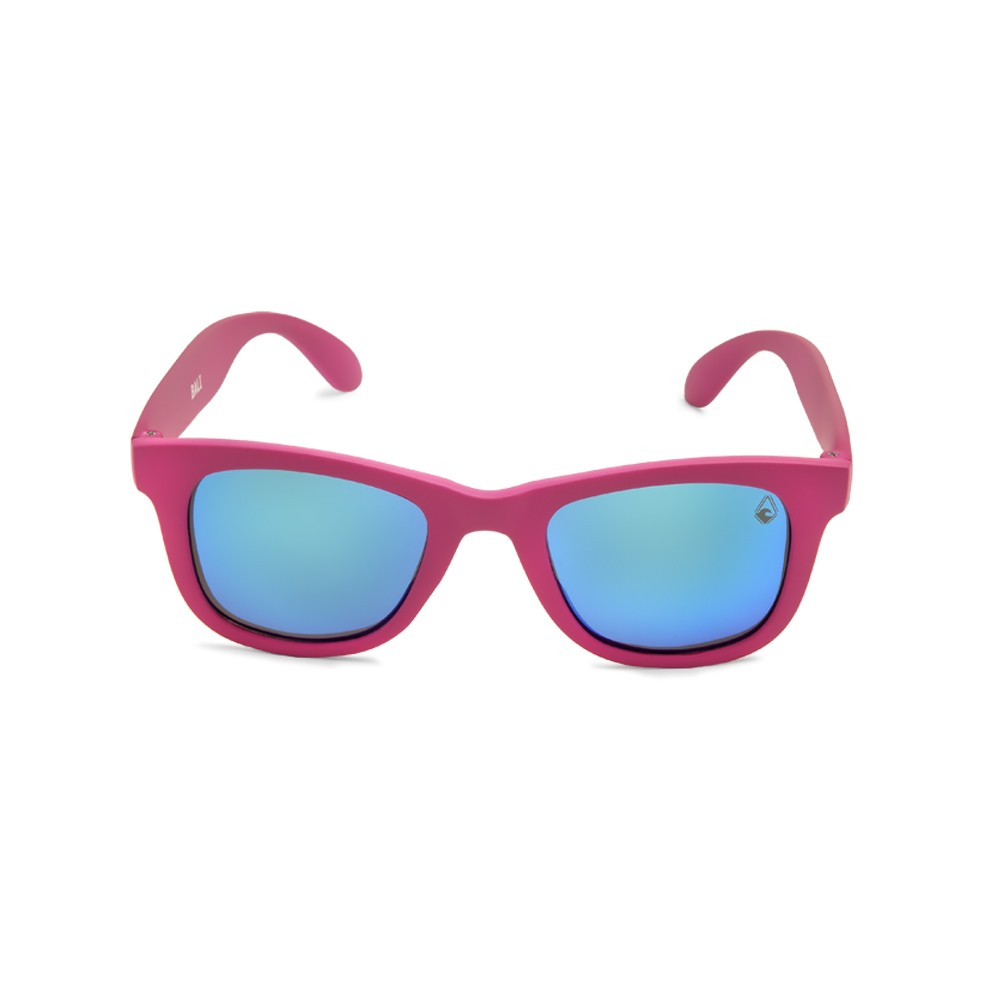 9a7471ff36d Polarized sunglasses Bali matte fucsia and blue iridium lenses