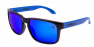 POLISHED BLACK / BLUE IRIDIUM POLARIZED