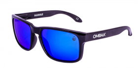 POLISHED BLACK / BLUE IRIDIUM POLARIZED / BLUE EXTRA ARM