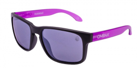 MATTE BLACK / VIOLET IRIDIUM POLARIZED / VIOLET EXTRA ARM
