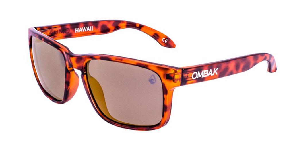 gafas sol polarizadas hawaii brillo tortuga bronce iridium extra blanca
