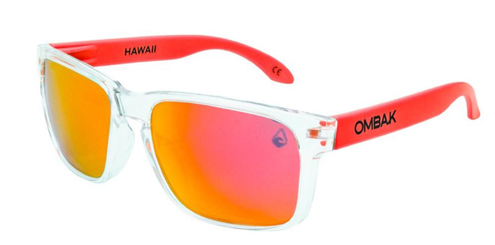 6873edc239f0a gafas sol polarizadas hawaii brillo transparente iridium patilla extra