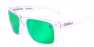POLISHED CLEAR / GREEN IRIDIUM POLARIZED / GREEN EXTRA ARM