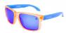 CANDY ORANGE / BLUE IRIDIUM POLARIZED