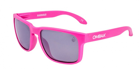 MATTE FUCSIA - GREY POLARIZED